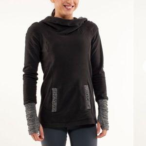 Lululemon Apres Run Pullover Sz 6 In Black